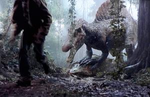 Spinosaurus aegypticus en Parque Jurásico III