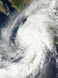El huracán Patricia. Imagen: NASA